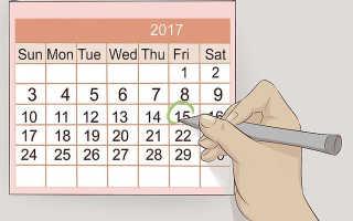 Рассчитать овуляцию. Как узнать по женскому календарю?