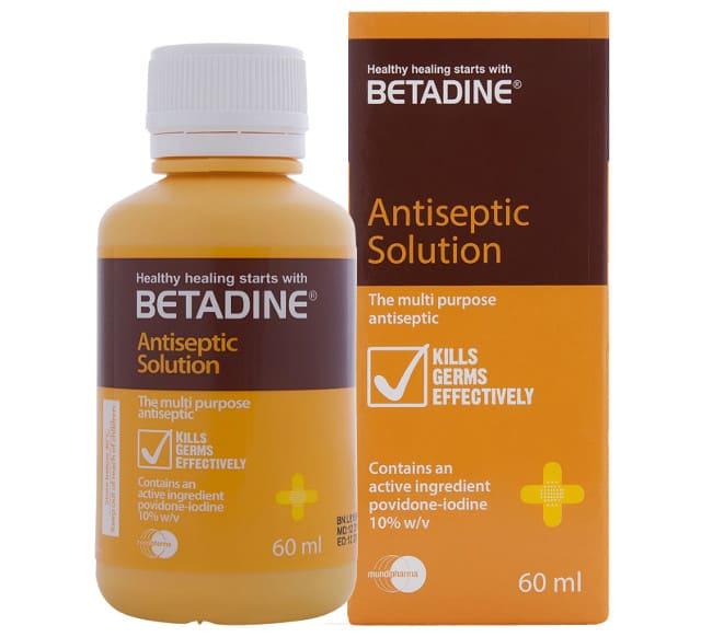 Бетадин и лечение молочницы