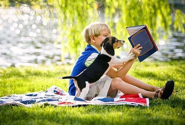 приучить ребенку к чтению